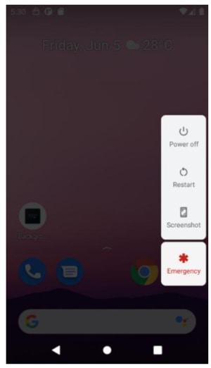 Power Menu Software Power Button Shortcut
